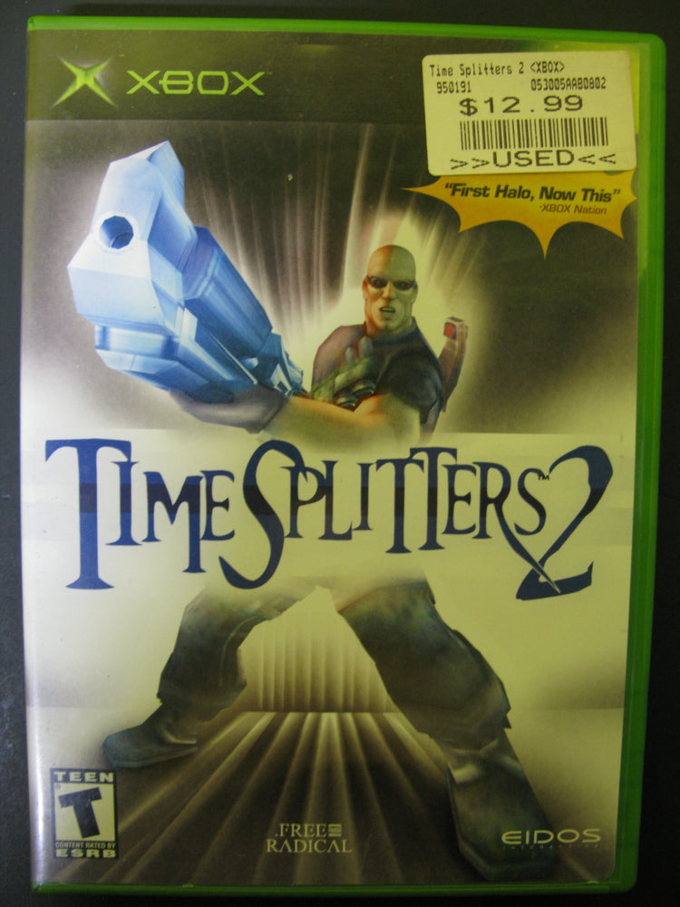 Xbox Time Splitters 2