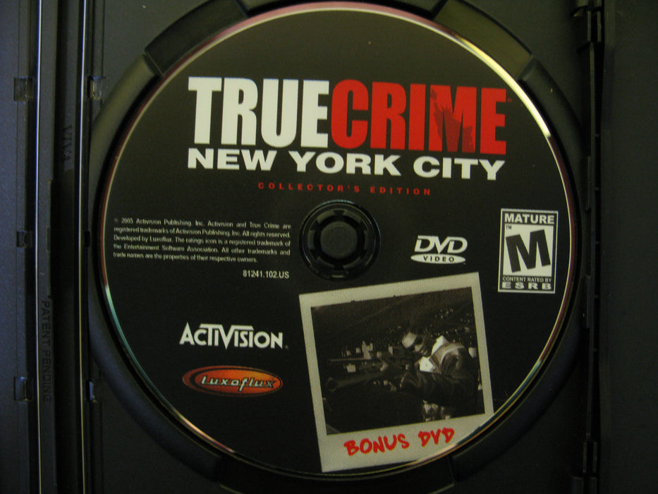 Xbox True Crime New York City Collector's Edition