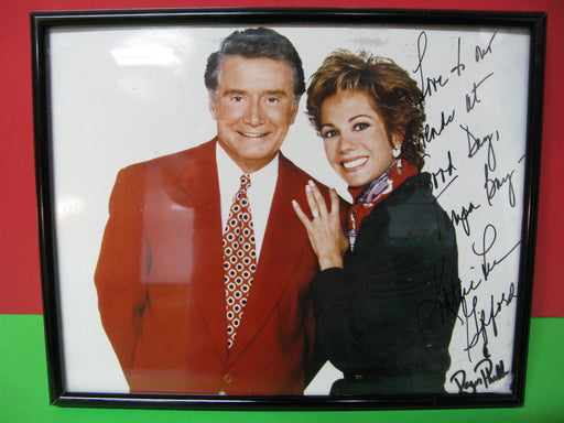 Kathy Lee Gifford and Regis Philbin Signed Photograph