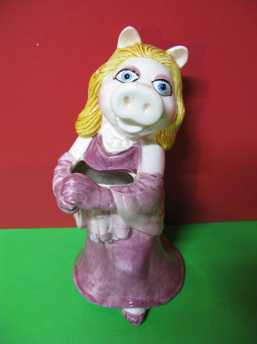 Miss Piggy Ceramic Pencil/Flower Holder