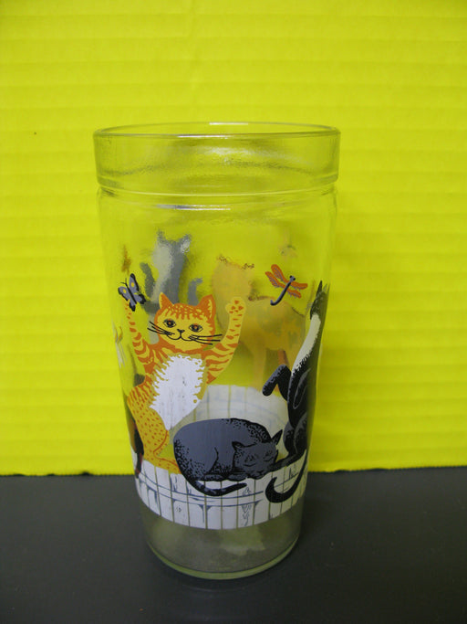 4 Decorative Cat Cups