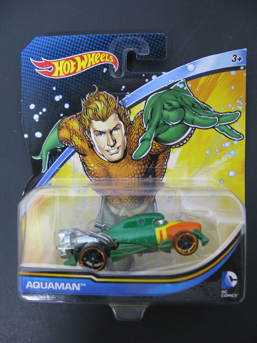 Hot Wheels Aquaman and Volkswagen T1 Panel Bus