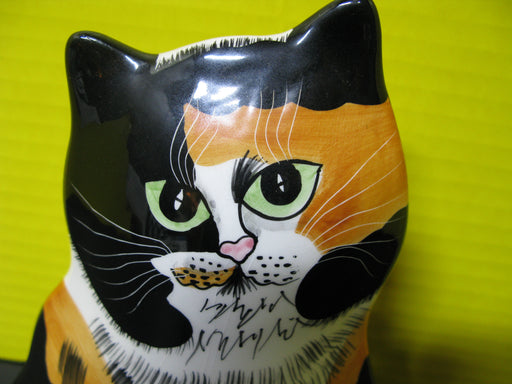 Ceramic Cat Figure