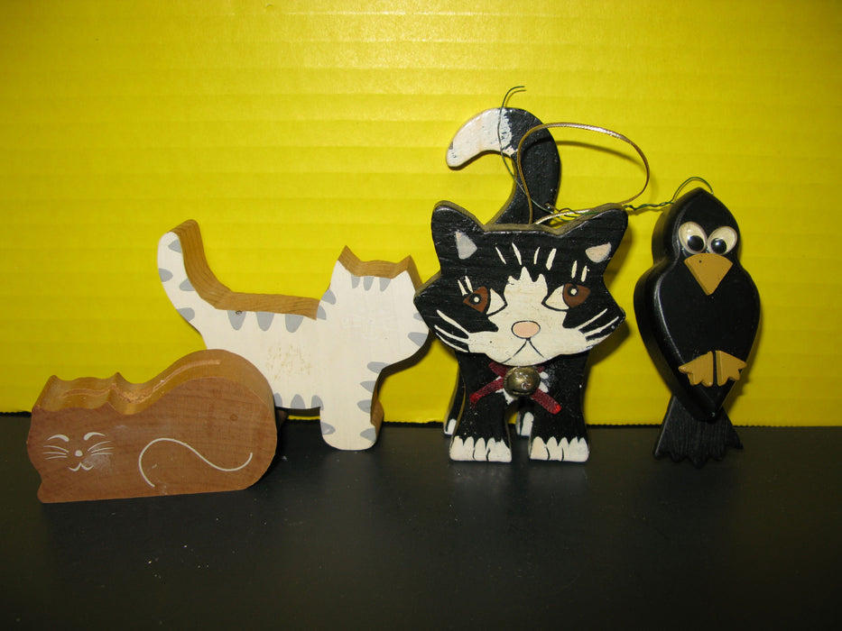 Lot of Cat Decorations