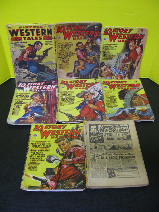 8 Story Western and Western Tales Magazines