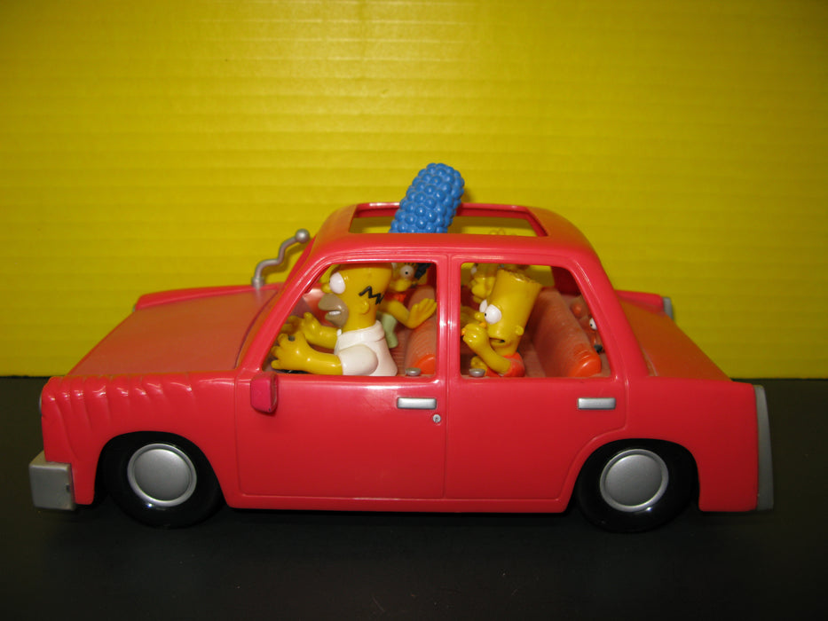 The Simpsons Talking Family Car Toy