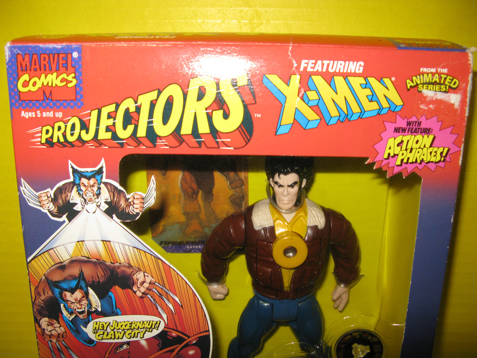 1995 Marvel Comics Civilian Wolverine Projector Action Figure