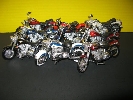 9 Harley Davidson Toy Model Motorcycles
