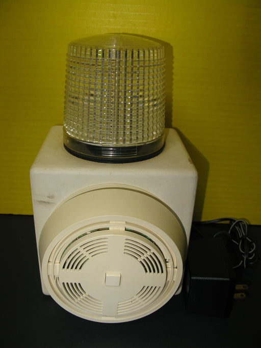 Antique Strobe-Alert Model SA-100 Visual/Audio Alarm Detector