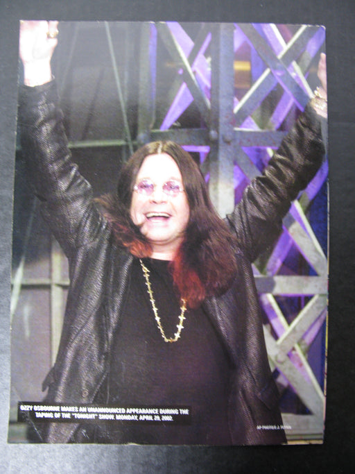 A Tribute to the Osbournes Magazine