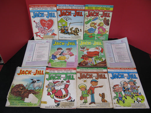 11 Jack and Jill Magazines (1963/1964/1965)