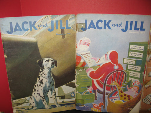 14 Jack and Jill Magazines (1942)