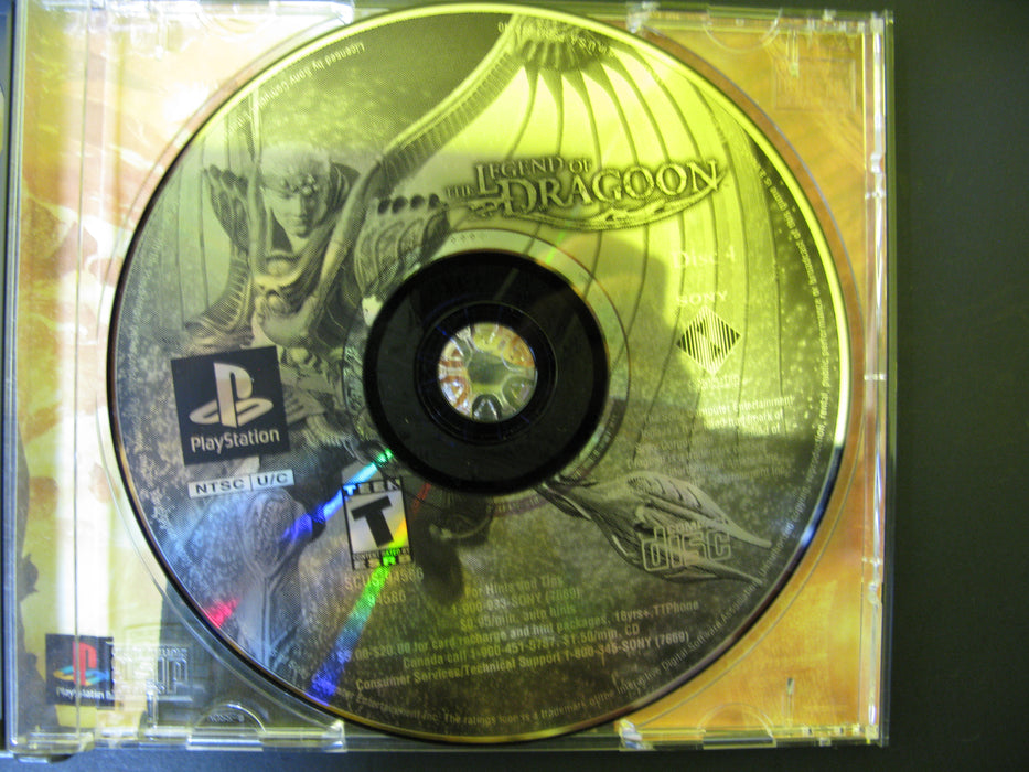 PlayStation The Legend of Dragoon