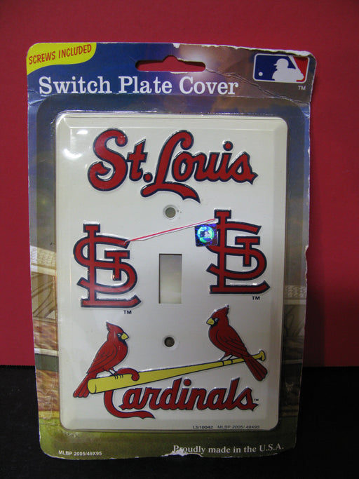 Switch Plate Cover-St.Louis Cardinals
