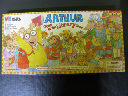 Arthur Goes to the Library Game