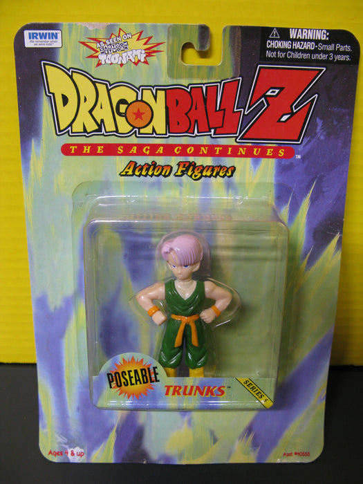 Dragon Ball Z - Poseable Trunks Series 5 Action Figure