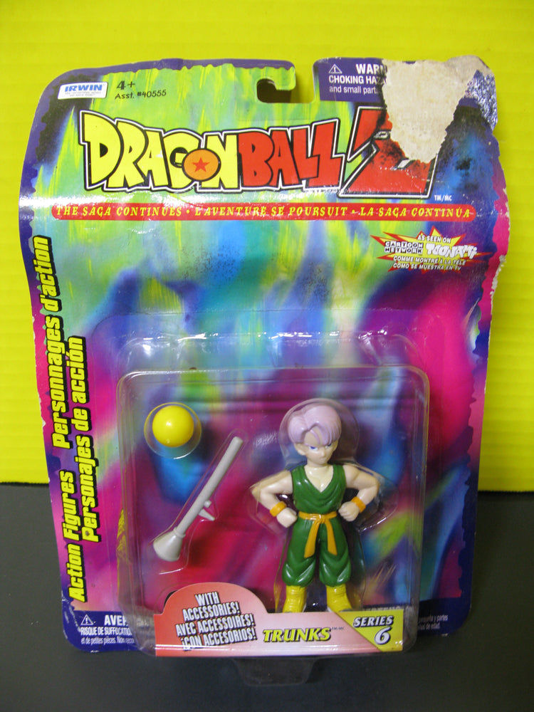 Dragon Ball Z - Trunks Series 6 Action Figure