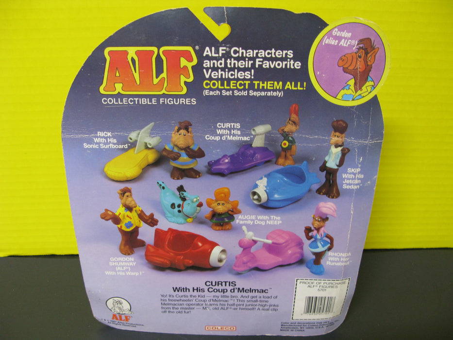 Alf Collectible Figures - Curtis