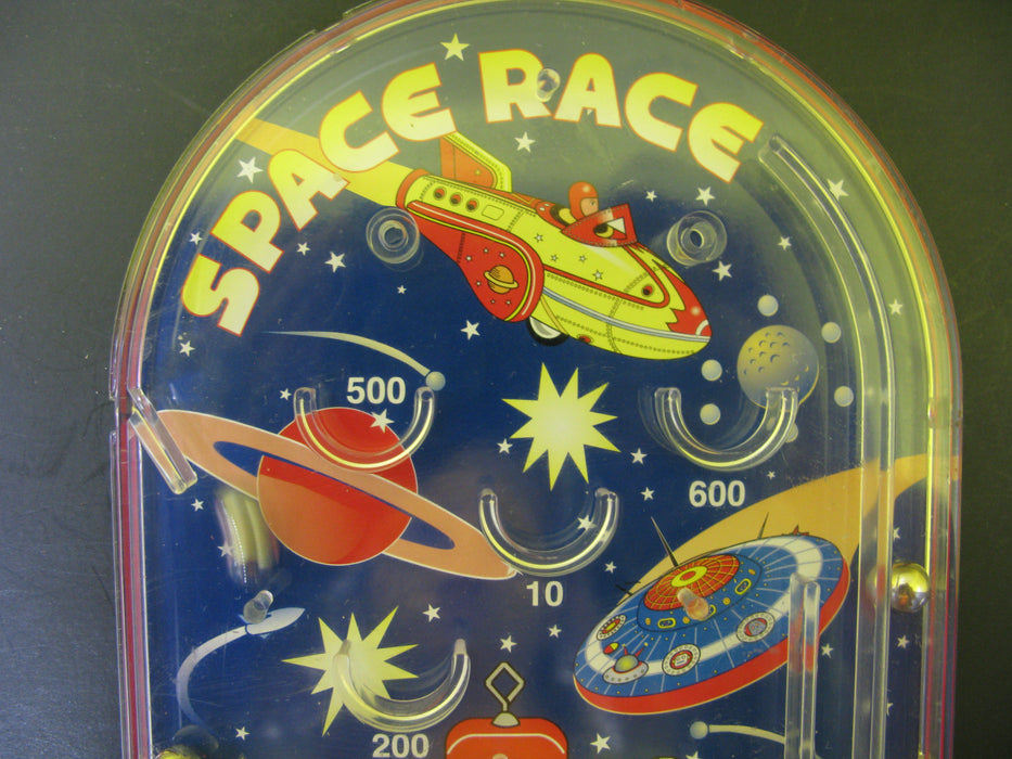 Space Race Pinball Robot UFO Game Toy