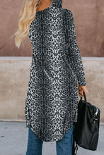 Load image into Gallery viewer, Leopard Print Long Cardigan