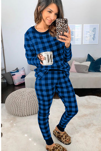 Plaid Two Pieces Loungewear