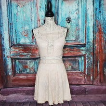 Load image into Gallery viewer, Lace Skater Dress