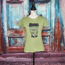 Load image into Gallery viewer, Coffee Green Graphic Tshirt