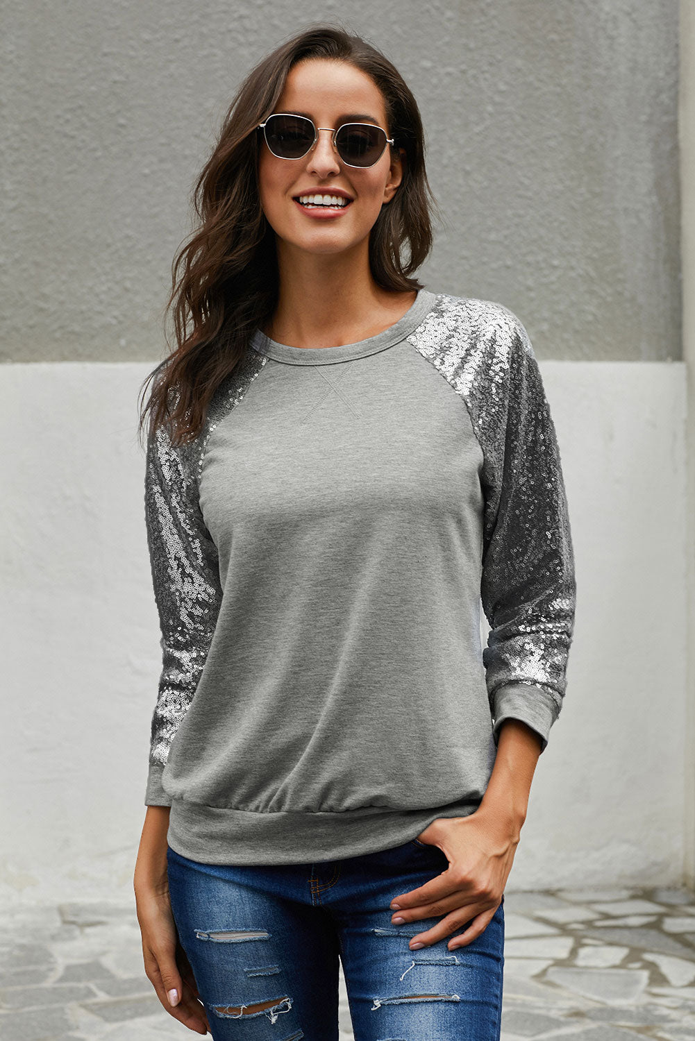 Gotta Have It Sequin Knit Top