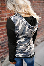 Load image into Gallery viewer, Camouflage Pocket Hoodie
