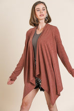 Load image into Gallery viewer, Soft Knit Long Sleeve Open Front Cardigan
