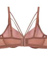 Mesh Bra With Front Straps