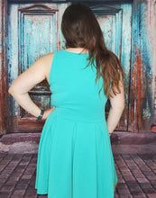 Load image into Gallery viewer, Turquoise Blue Dress