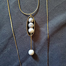 Load image into Gallery viewer, Marble Bead Necklace