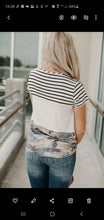 Load image into Gallery viewer, Camo Colorblock Tee