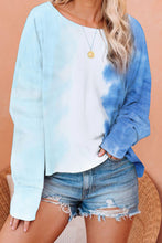 Load image into Gallery viewer, Tie Dye Loose Pullover Long Sleeve Top