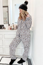 Load image into Gallery viewer, Print Long Sleeve Two Pieces Loungewear