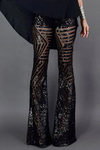 Load image into Gallery viewer, Sequin Wide Leg Pants