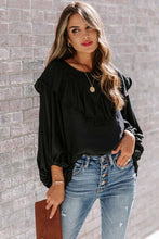 Load image into Gallery viewer, Ruffle Lantern Long Sleeve Top