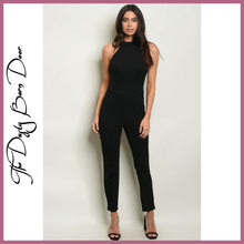 Load image into Gallery viewer, Black Jumpsuit