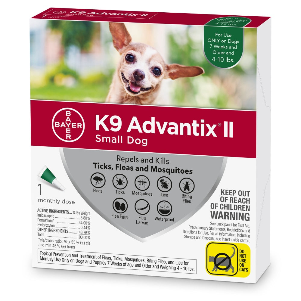 Bayer K9 Advantix II Small Dog
