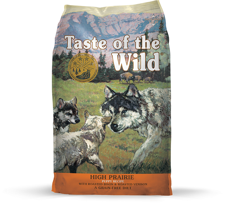 Taste Of The Wild High Prairie Roasted Bison and Venison Puppy Dry Food
