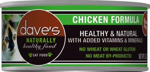 Dave's Naturally Healthy Chicken Formula Canned Cat Food