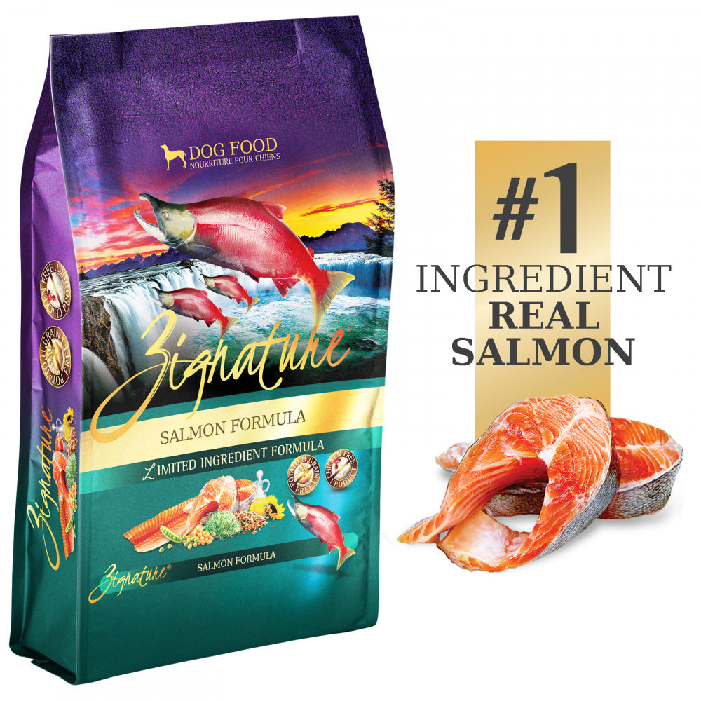 Zignature Limited Ingredient Diet Grain Free Salmon Recipe Dry Dog Food