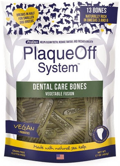 Proden PlaqueOff Dental Vegetable Fusion Dog Bones