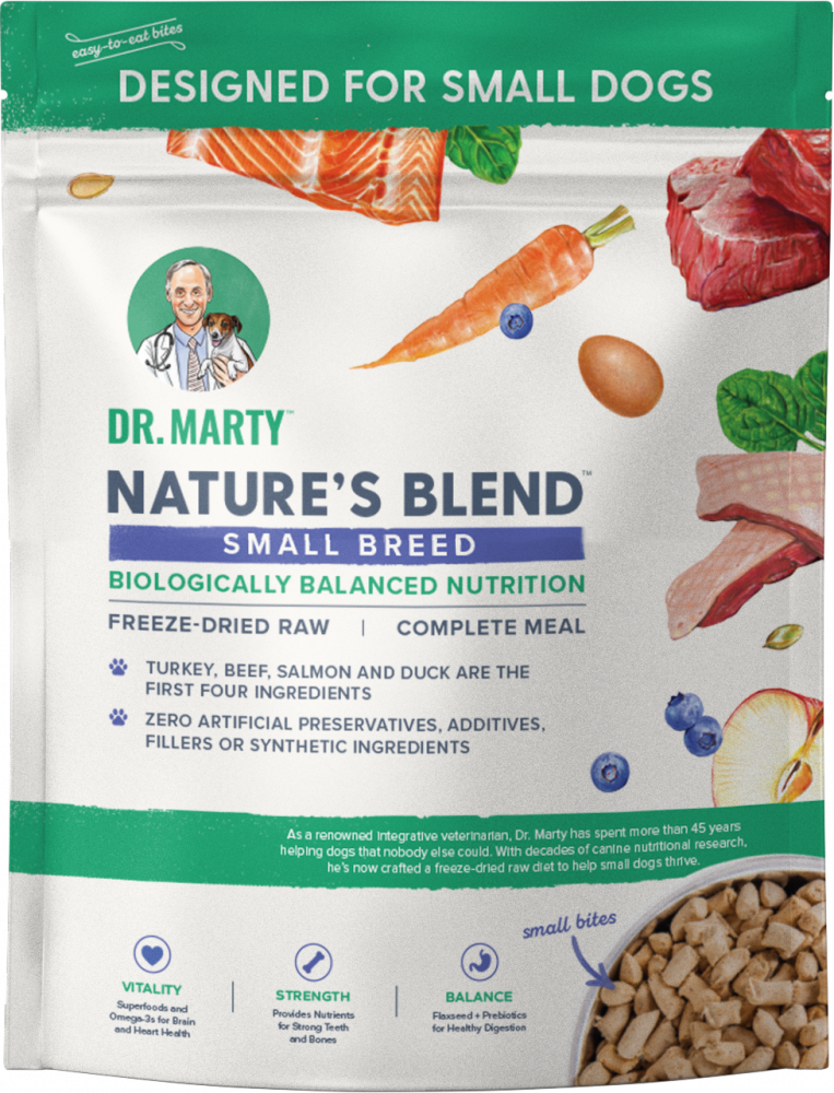 Dr. Marty Nature's Blend Small Breed Freeze Dried Raw Dog Food