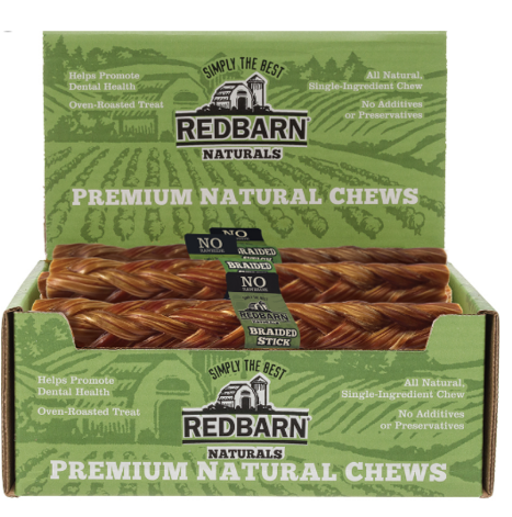 RedBarn Beef Esophagus Large Size Dog Chew Treat - Case of 25