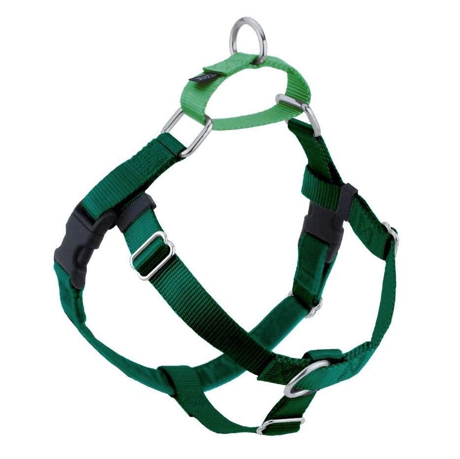 2 Hounds Design Freedom No-Pull Dog Harness - Kelly Green