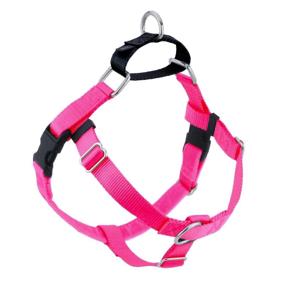 2 Hounds Design Freedom No-Pull Dog Harness - Hot Pink