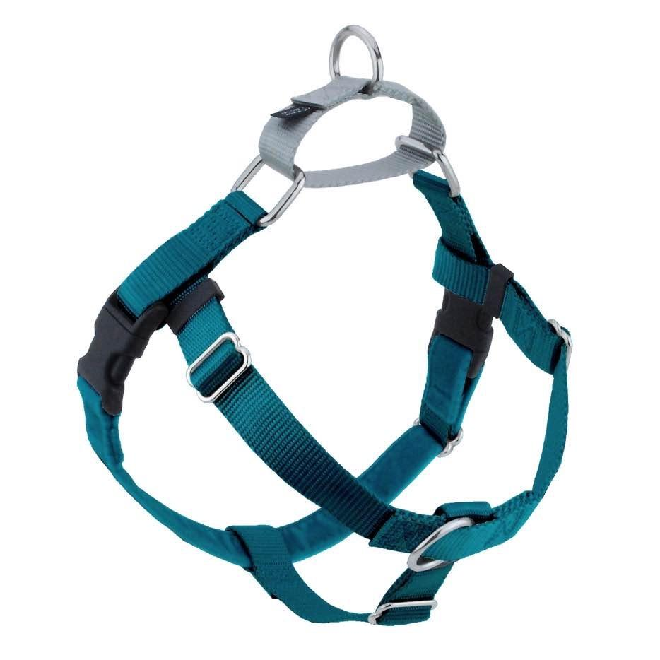 2 Hounds Design Freedom No-Pull Dog Harness - Teal