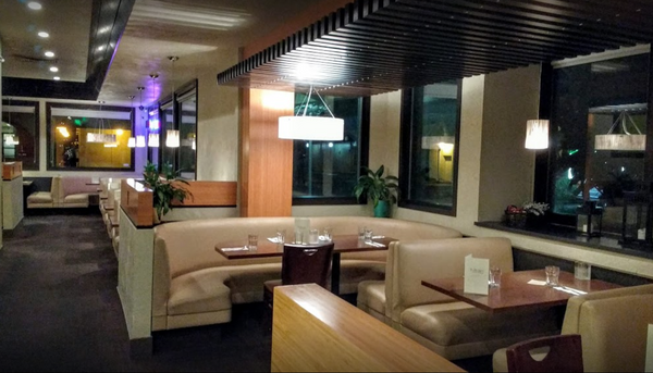 Inside of Ta Ra Rin Thai Cuisine offers a cozy 420 friendly atmosphere.